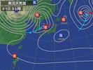 天気図(2013.3.1)