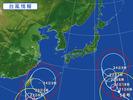 台風(15、16号)20150821