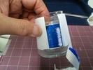 サンドブラスト素材「ジャム瓶D社」山並みカット2