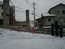 降雪中(20150205)通学路
