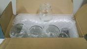 サンドブラスト「素材」ガラス瓶(1ダース)