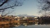 牛池(20140328)桜と八ヶ岳