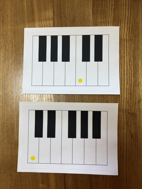鍵盤カード素材②