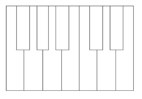 鍵盤図ぬりえ用
