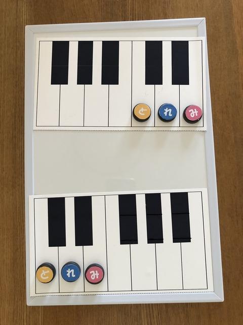 マグネット(鍵盤図)