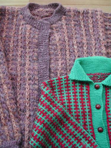 セーター加工