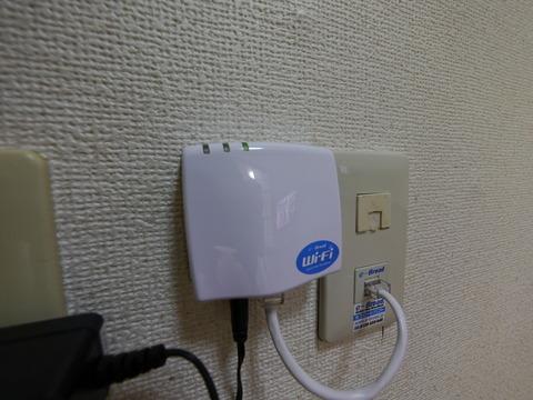 リビング_無料WiFiルーター
