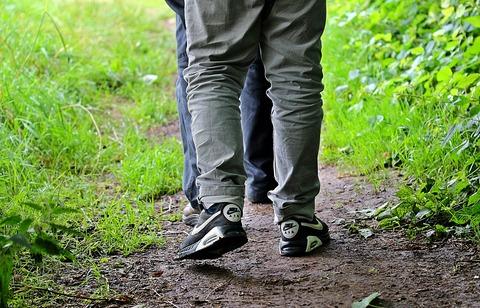 歩けば健康?