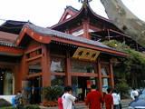 0610 杭州 西湖近くレストラン店前