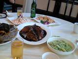 0610 杭州 西湖近くレストラン料理�