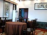 0610 杭州 西湖近くレストラン店内