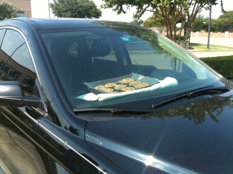 Car made cookie3
