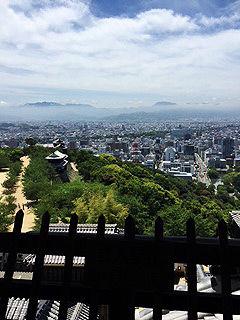 から松山城