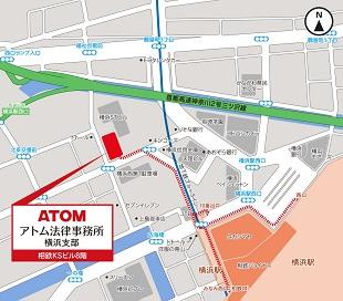 横浜支部地図