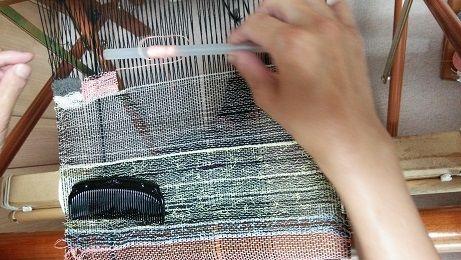 150701織り体験 (2)