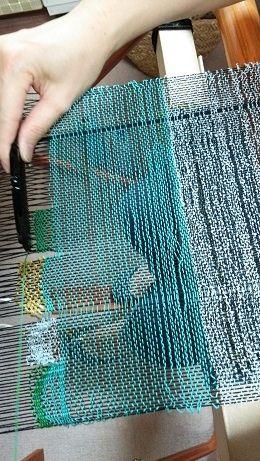150701織り体験 (1)