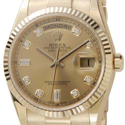 [ロレックス]Rolex ロレックス 腕時計 オイスターパーペチュアル デイデイト 118238A メンズ ウォッチ ROLEX [並行輸入品]