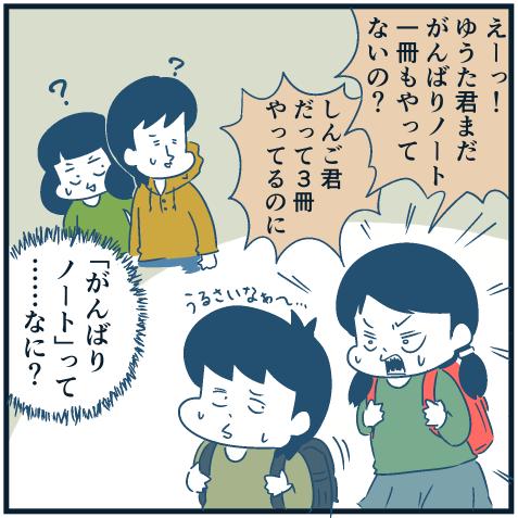 がんばりを強要される男児