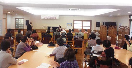 10/21 東区松崎4丁目「地域文化交流会」