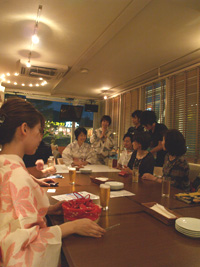 7/23 大和撫子会 in sorrisocafe
