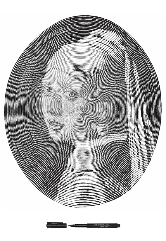 faber-castell_girl-with-pearl-earring
