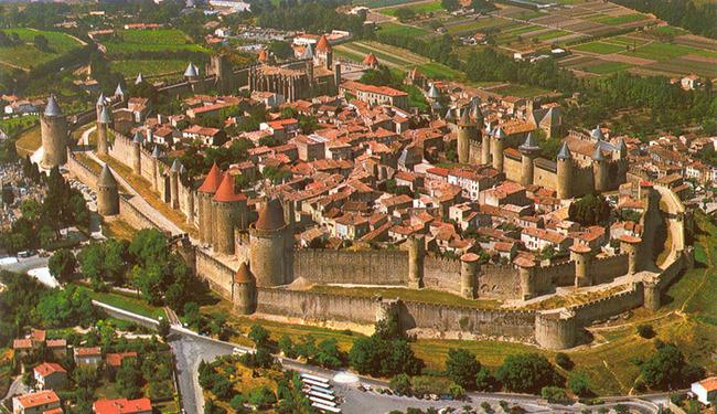 carcassonne写真