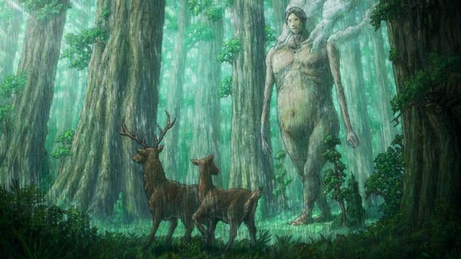 巨人は動物を襲わない