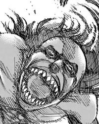 飛び掛るユミルの顔3