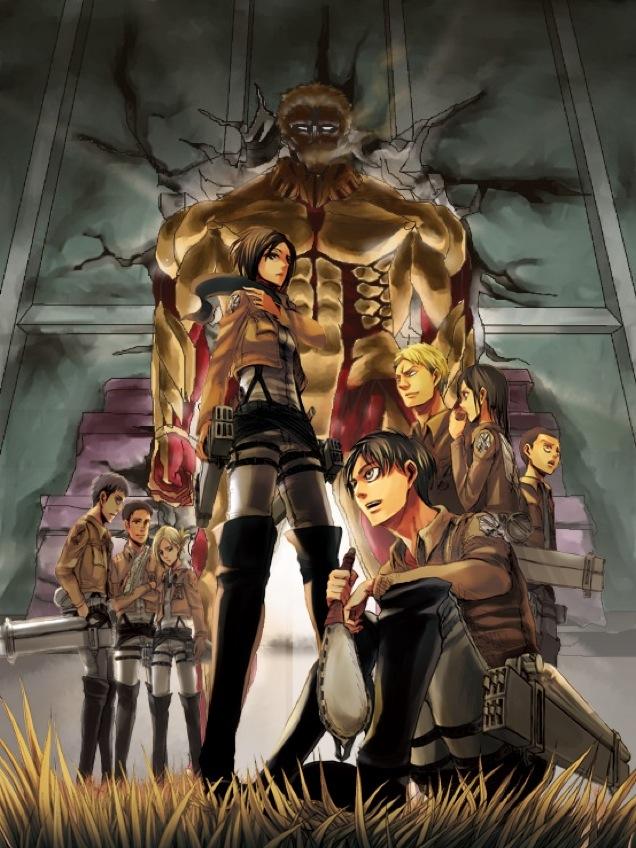 鎧の巨人ファンアート2