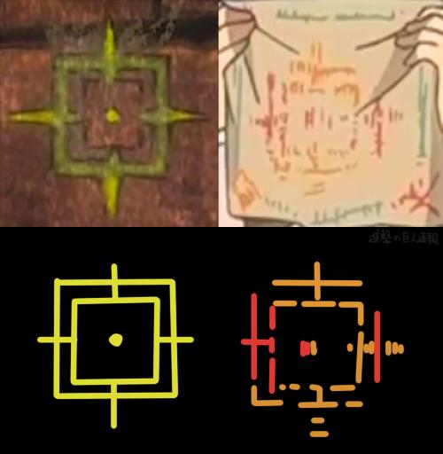 ミカサの印と壁画