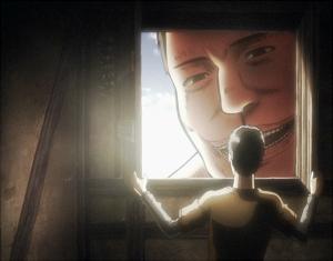 アニメ版のベルトルト回想に出てきた巨人