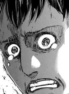 ベルトルトの涙目