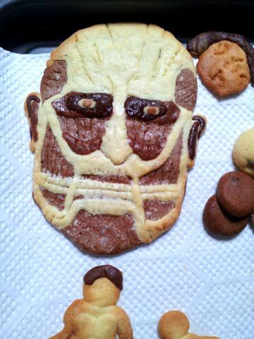 NMB48の山口さんが作った進撃の巨人クッキー