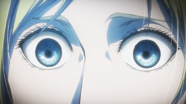 父をひたすらと見る瞳