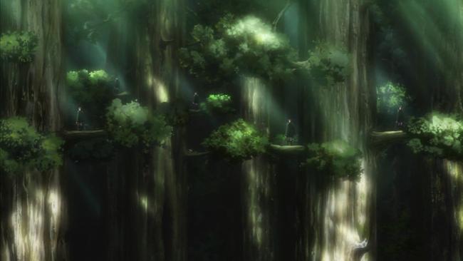 18話美しき樹上