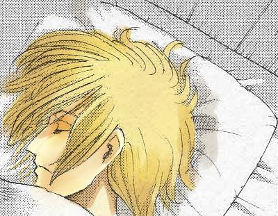 寝起きの髪下ろしアニ