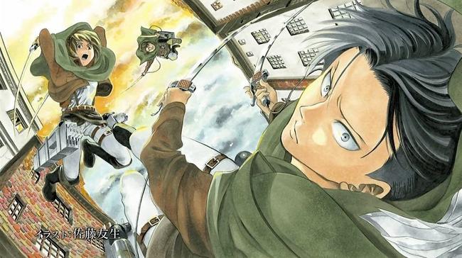 アニメ5話のリヴァイ班エンドカード