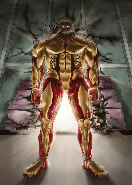 鎧の巨人ファンアート