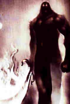ムスペルヘイムの王、炎の巨人スルト