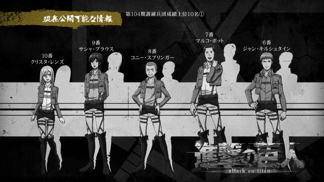 現在公開可能な情報アニメ4話その1