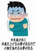 寒いと代謝が上がる 画像1