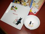 リサとカスパールのお皿と絵本