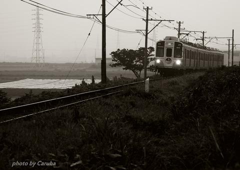 渥美線は行く