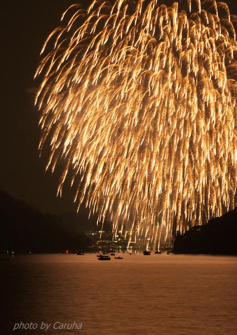 舘山寺の花火