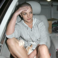 Britney Shaved