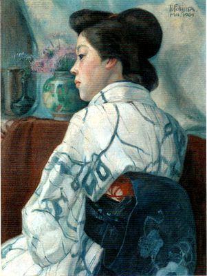 2018 婦人像 1909年 東京藝術大学蔵