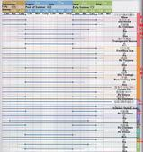 Utsukushii Chart 2006 May to September