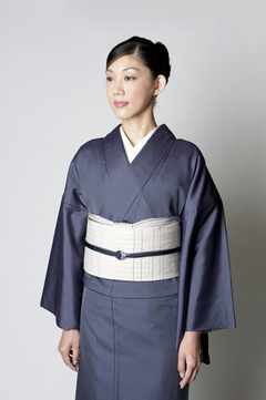Awai Blue Omeshi Ensemble
