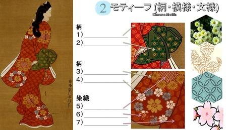 2 KimonoZemi-Womens Kimono Moronobu Motifs new