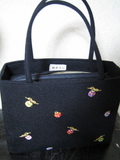 Black Treasures bag